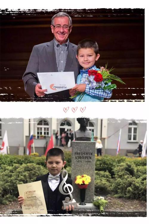黄睿安,雅辛斯基,艺术留学广场,肖邦少年儿童钢琴比赛,钢琴